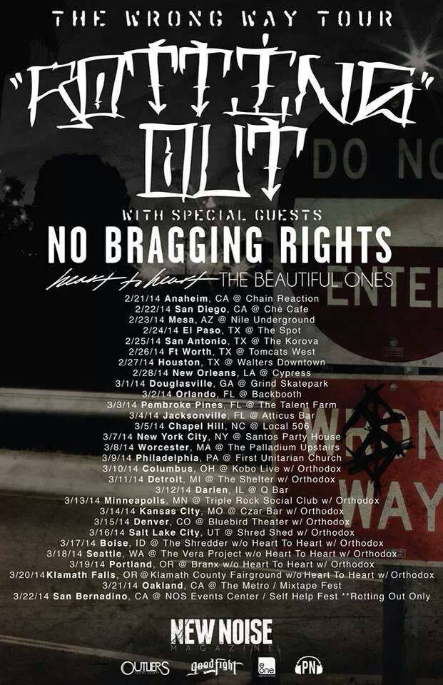 The Wrong Way Tour 2014