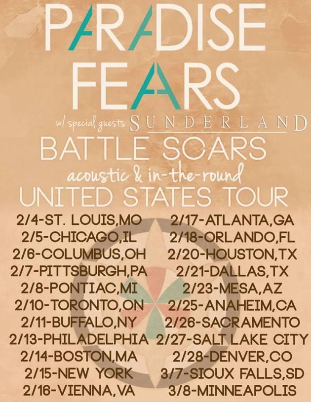 Battle Scars Acoustic Tour 2014