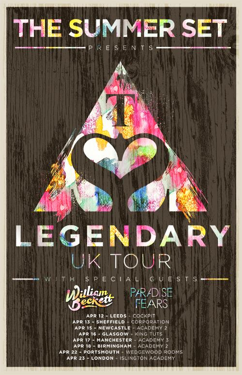The Summer Set present Legendary Unplugged UK Tour 2014