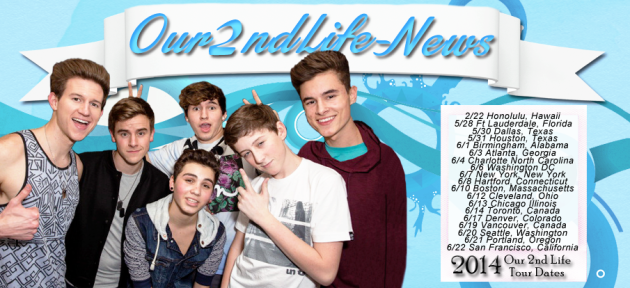 Our2ndLife YouTube stars on tour NOW