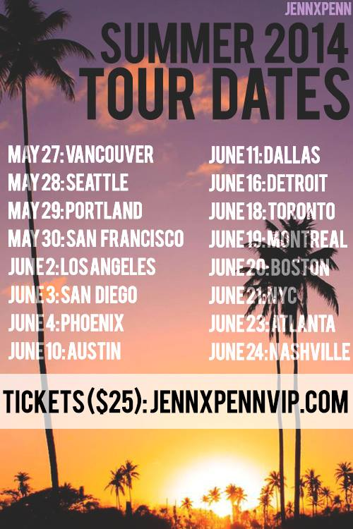 Meet JennxPenn at a show near you !
