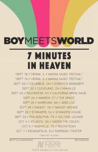 boymeetsworld 7mih tour 2015